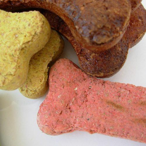Hundekekse mit Buttermilch und Honig